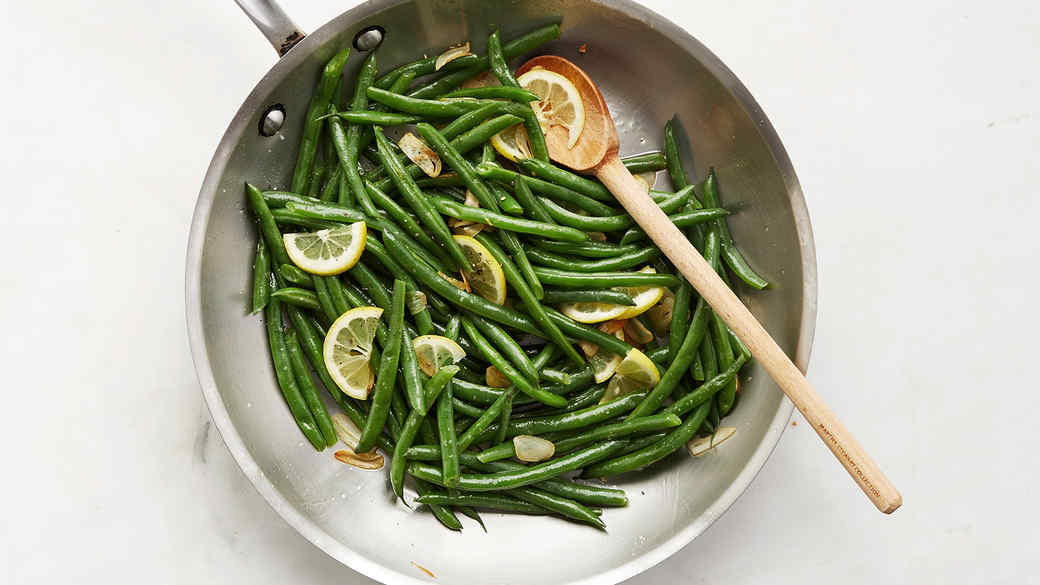 Quick-Cooked Green Beans with Lemon